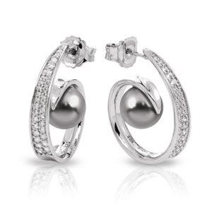 Belle Étoile Alanna Grey Earrings
