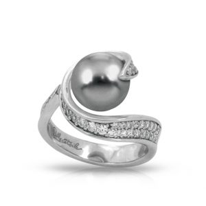 Belle Étoile Alanna Grey Ring
