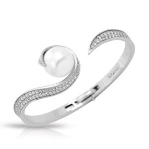 Belle Étoile Alanna White Bangle