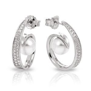 Belle Étoile Alanna White Earrings