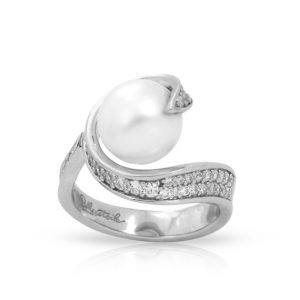 Belle Étoile Alanna White Ring