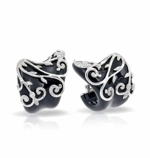Belle Étoile Anastacia Black Earrings