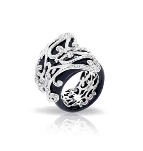 Belle Étoile Anastacia Black Ring