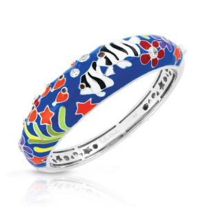 Belle Étoile Angelfish Blue Bangle