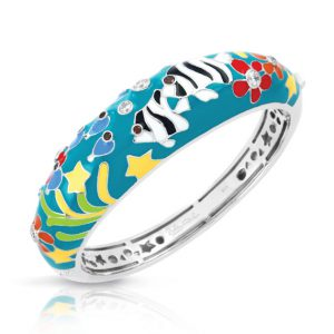 Belle Étoile Angelfish Teal Bangle