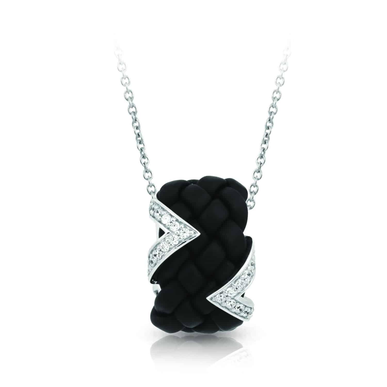 Belle Étoile Arpeggio Black Pendant