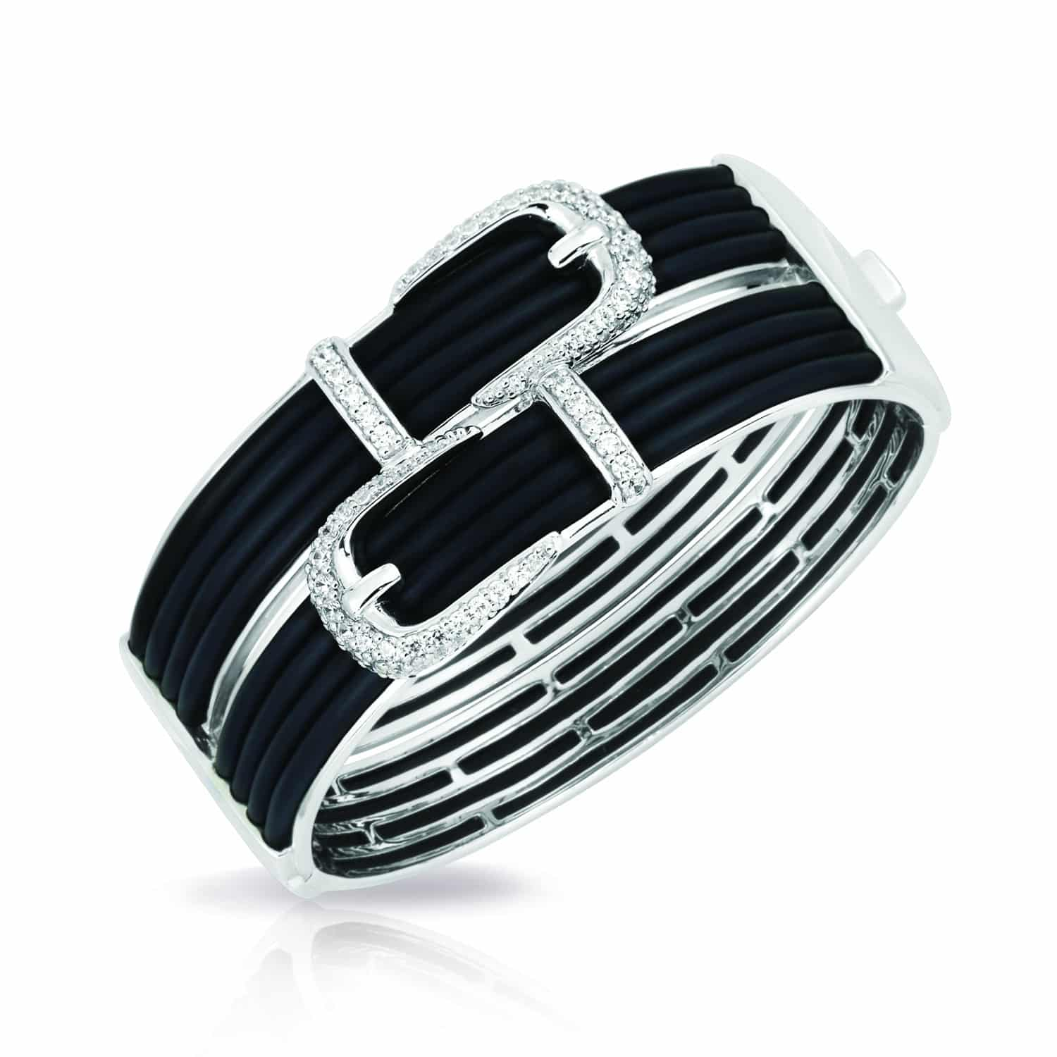 Belle Étoile Betty Black Bangle