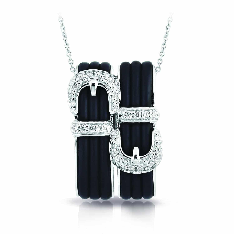 Belle Étoile Betty Black Pendant