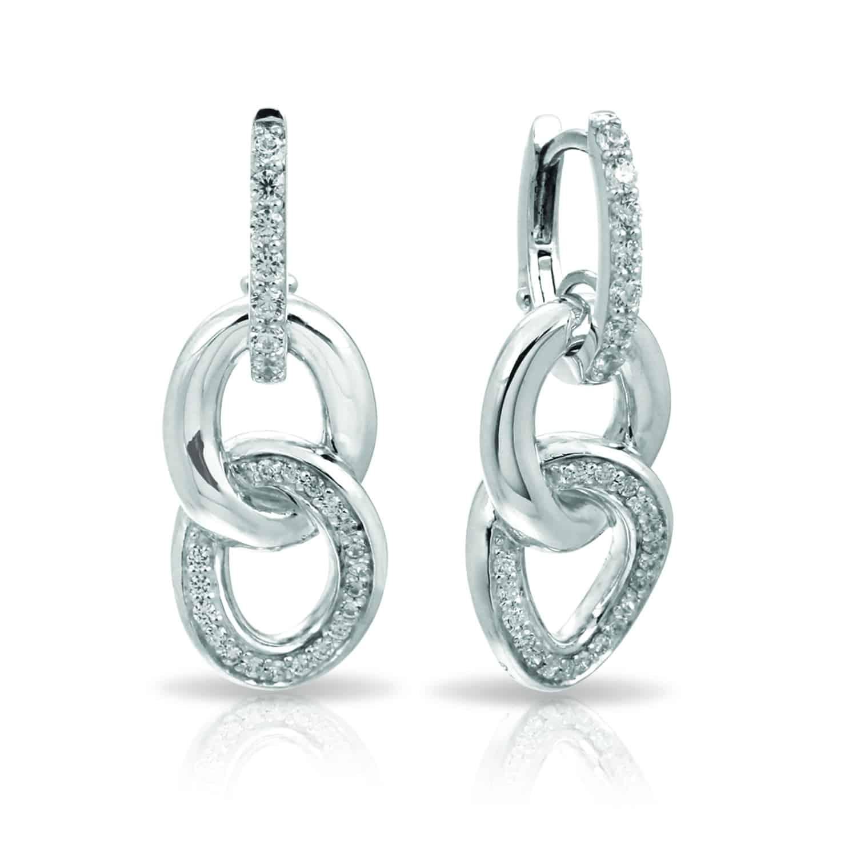 Belle Étoile Bon White Earrings