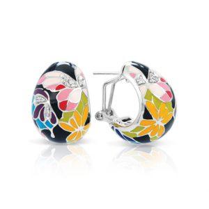 Belle Étoile Butterfly Kisses Black Earrings