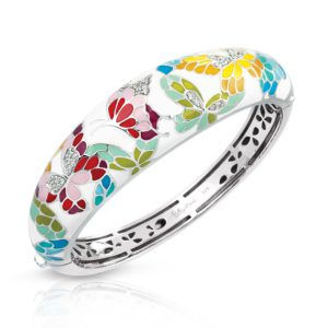 Belle Étoile Butterfly Kisses Ivory Bangle