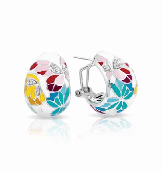 Belle Étoile Butterfly Kisses Ivory Earrings