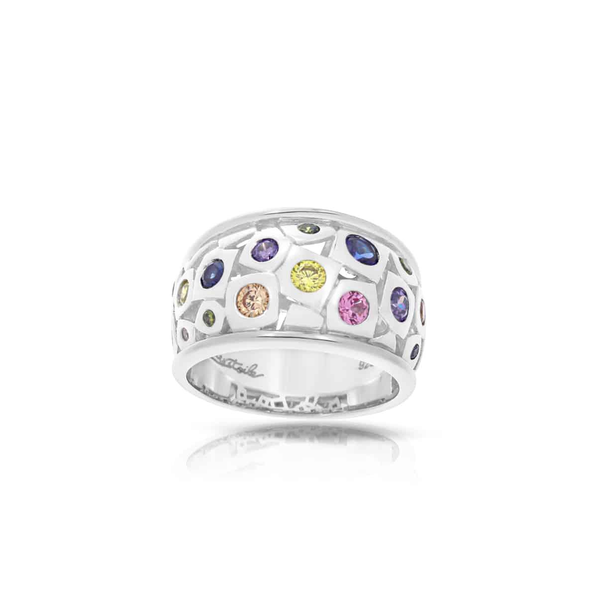 Belle Étoile Byzantine Multi Ring
