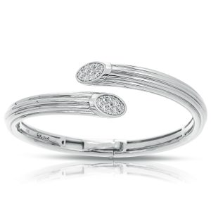 Belle Étoile Cavo White Bangle