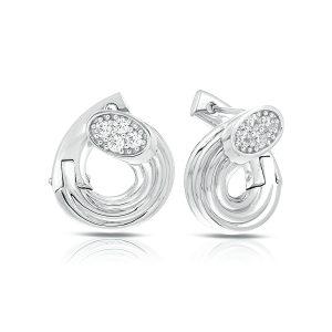 Belle Étoile Cavo White Earrings