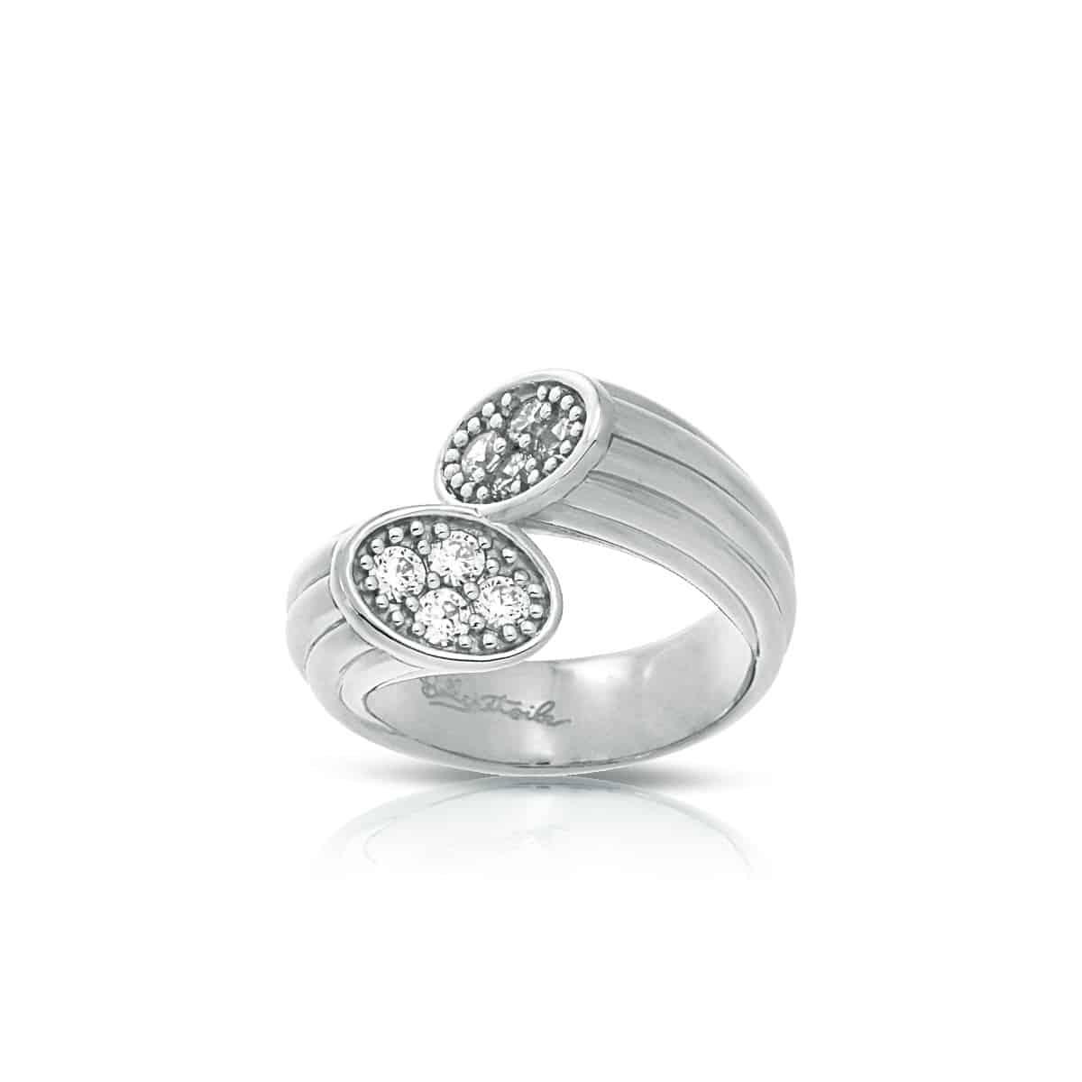 Belle Étoile Cavo White Ring