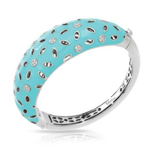 Belle Étoile Charlotte Aquamarine Bangle