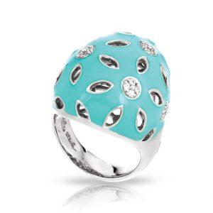 Belle Étoile Charlotte Aquamarine Ring