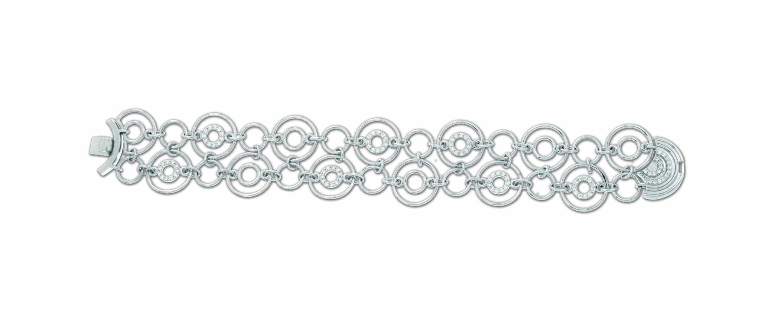 Belle Étoile Concentra White Bracelet