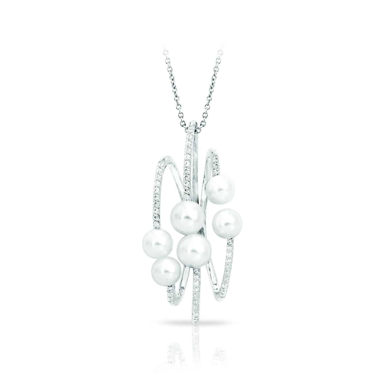 Belle Étoile Effervescence White Pendant