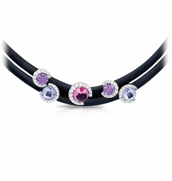 Belle Étoile Element Black Necklace