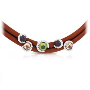 Belle Étoile Element Brown Necklace