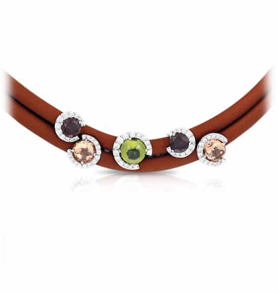 Belle Étoile Element Brown Necklace