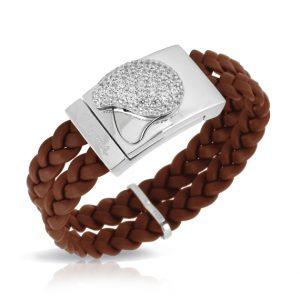 Belle Étoile Florence Brown Bracelet