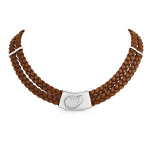 Belle Étoile Florence Brown Necklace