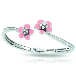 Belle Étoile Forget-Me-Not Pink Bangle
