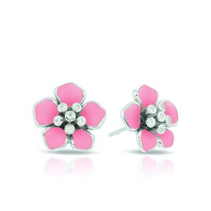 Belle Étoile Forget-Me-Not Pink Earrings