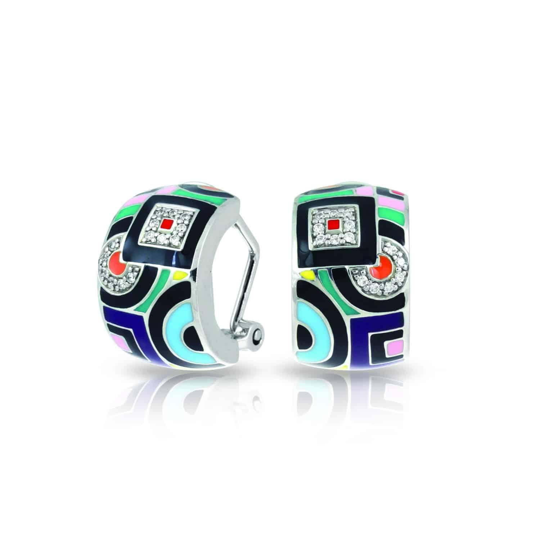 Belle Étoile Geometrica Multi Earrings
