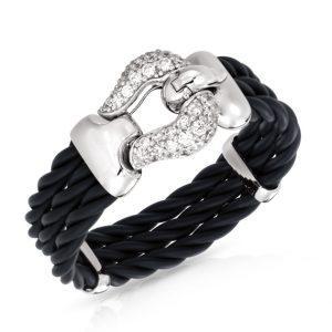 Belle Étoile Lasso Black Bracelet