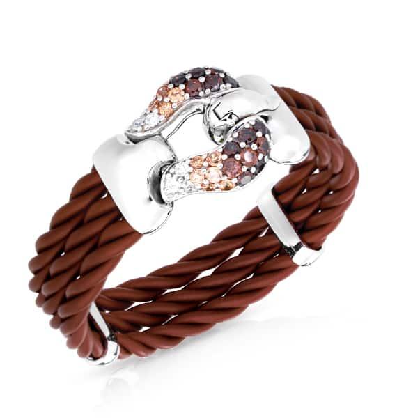 Belle Étoile Lasso Brown Bracelet