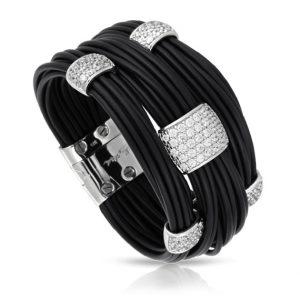 Belle Étoile Legato Black Bracelet