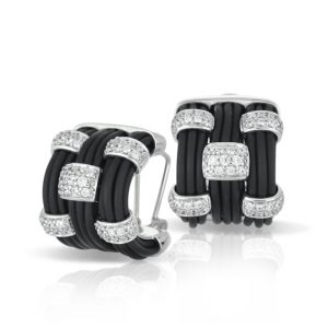 Belle Étoile Legato Black Earrings