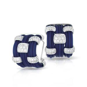 Belle Étoile Legato Blue Earrings