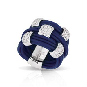 Belle Étoile Legato Blue Ring