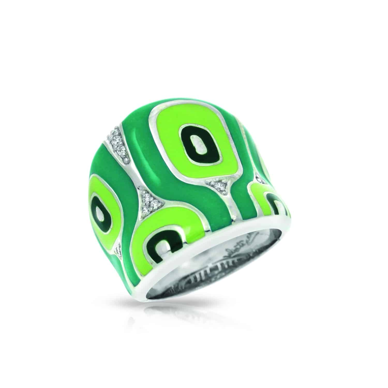 Belle Étoile Moda Green Ring