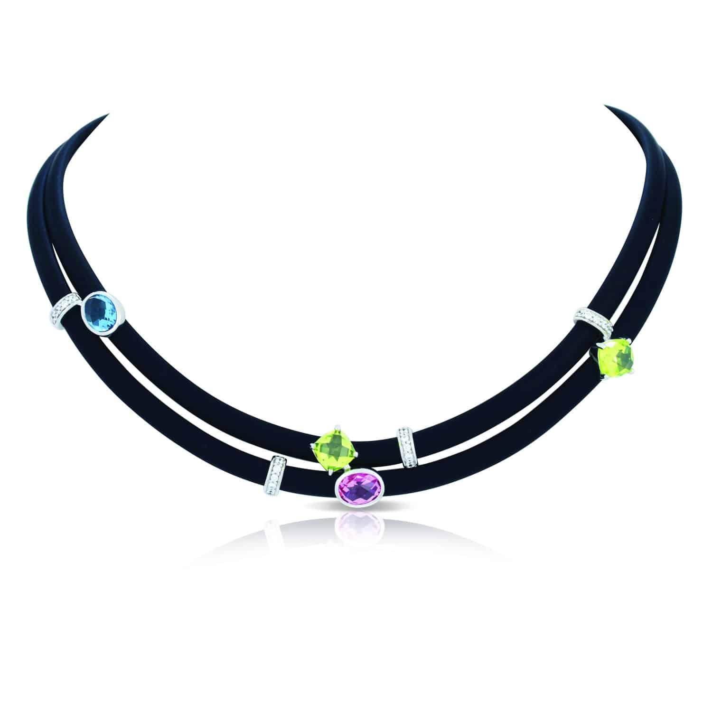 Venezia Black Necklace