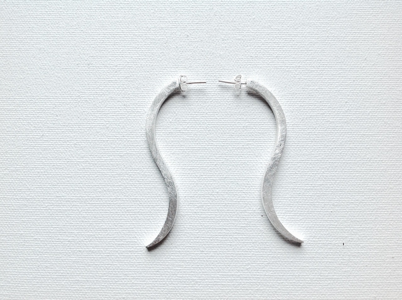 Sterling Silver Swing Earrings