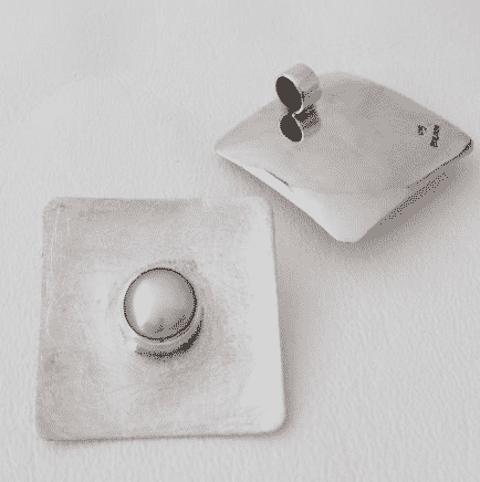 Sterling Silver Fresh Water Pearl Square Pendant