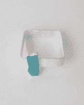 Sterling Silver Turquoise Square Bangle
