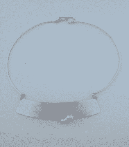 Sterling Silver Fresh Water Pearl Bar Necklace