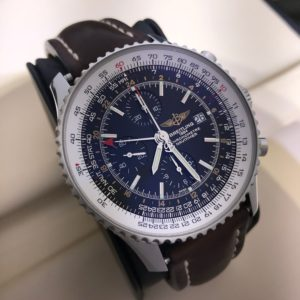 SOLD – Men's Breitling Navitimer World