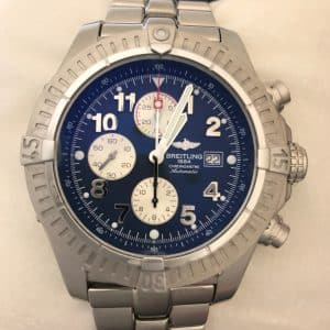 SOLD – Mens' Breitling Super Avenger