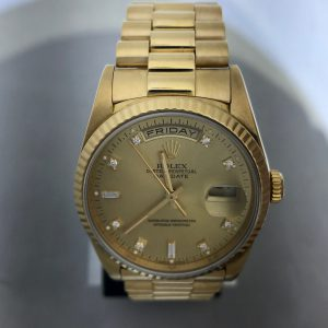 Men's Rolex Day Date Factory Diamond Dial