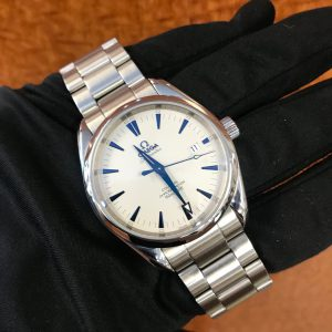 SOLD – Men's Omega Seamaster Aqua Terra Chronometer