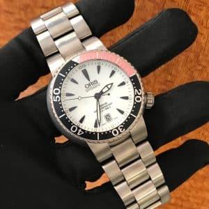 SOLD – Men's ORIS Titanium Diver