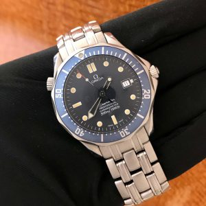 SOLD – Men's Omega Seamaster Professional Blue Wave Dial